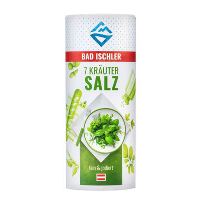 Bad Ischler 7-Kräutersalz - 7 herb salt for cooking and salads UK