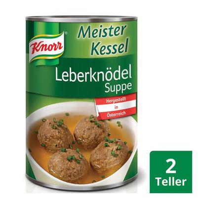 Knorr Meisterkessel Leberknödelsuppe - liver dumpling soup UK