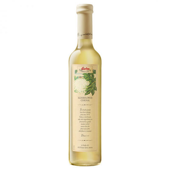 Picture of D'Arbo Elderflower Cordial Syrup