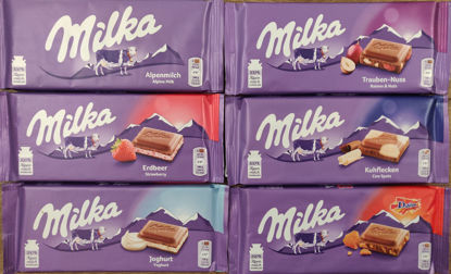 Picture of Milka Lover's Dream Bundle (6 100g bars)