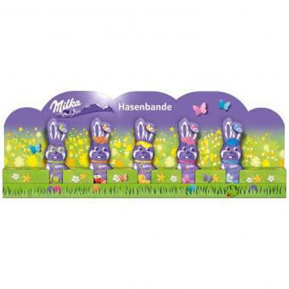 Picture of Milka Hasenbande - milk chocolate bunnies 75g