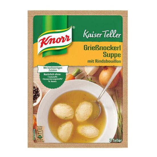 Knorr Kaiserteller Grießnockerlsuppee UK